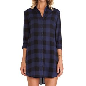 BB Dakota Keenan Plaid Shirt Dress